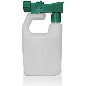 Amazon.com : Refillable Multipurpose Hose Sprayer Bottle - Empty Ready-to-use Sprayer 3 oz per Gallon, Reusable, holds 32 ounces - Best for fertilizer, pesticides, herbicides, car wash and any other outdoor liquid : Garden & Outdoor