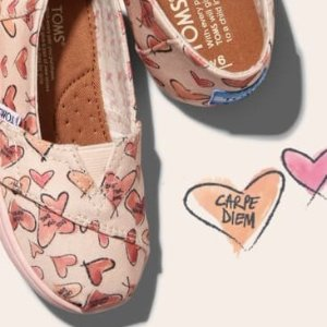 Up to $20 Off + FSKids Shoes @ TOMS