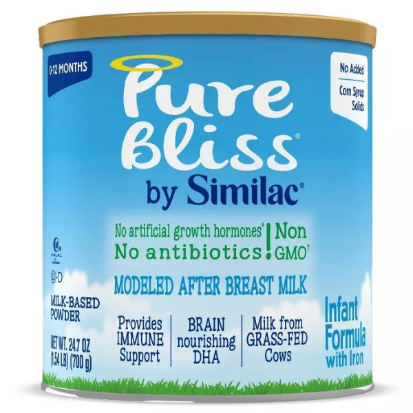 Pure Bliss Non-GMO 婴幼儿配方奶粉