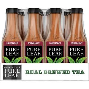 $13.68 1瓶仅$1.14闪购:Pure Leaf 茶室特调有机冰茶 石榴口味 12瓶