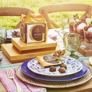 低至6.7折 蝴蝶结礼盒三盒$35.9GODIVA 精选巧克力综合礼盒促销