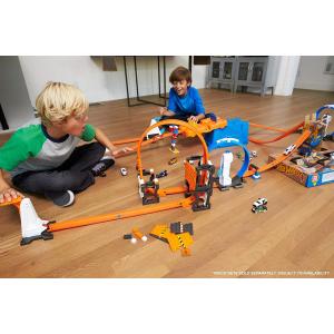 $11(原价$35.99)白菜价:Hot Wheels 轨道拼接组合,让孩子成为小小建筑师
