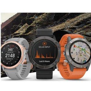 8.5折 $339收 Instinct系列佳明 Garmin 折扣专场 GPS设备、户外运动手表全都有