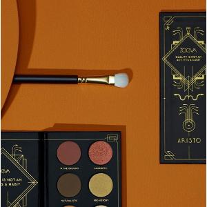 全新彩妆出炉 附彩盘试色ZOEVA Aristo 贵族系列专业美妆产品上新
