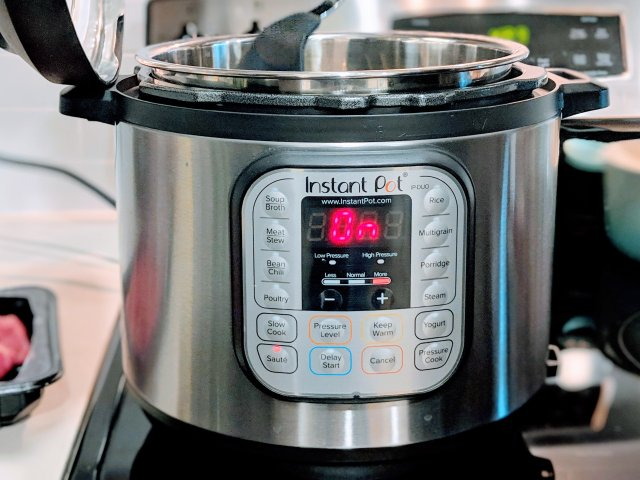 厨房神器Instant Pot在手...