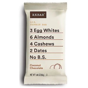 RXBAR12 G. Protein Bar Coconut Chocolate -- 12 Bars