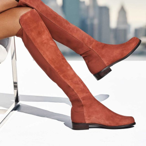 5折起 £315收爆款马丁靴上新:Stuart Weitzman 全场美鞋热卖中 超多款过膝靴、踝靴参与