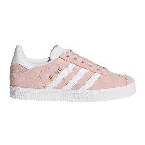 adidas Originals儿童粉色低帮休闲鞋