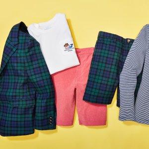 $8起Vineyard Vines 等品牌夏季儿童服饰促销
