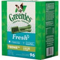 Greenies Teenie 清新口气狗狗洁牙棒 96根