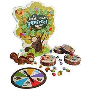 史低价:小松鼠找松果儿童益智桌游