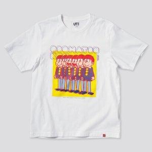 Uniqlo无小码 100%全棉佐藤可士和 合作T恤