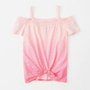 一律4折 封面款仅$7.18Abercrombie Kids 儿童服饰清仓优惠