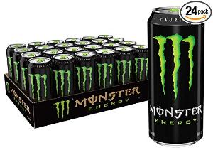 $28.98Monster Energy Drink, Green, Original, 16 Ounce (Pack of 24)