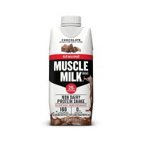 Muscle Milk 巧克力口味蛋白饮品25gg蛋白 12瓶装