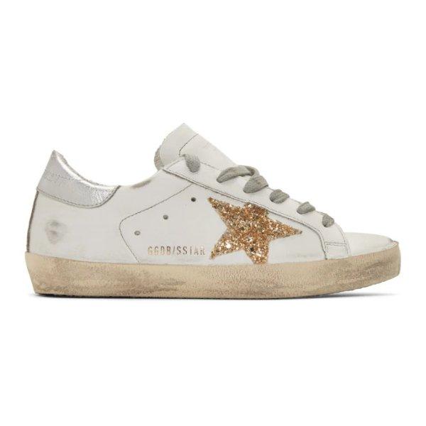 独家款金星星小脏鞋