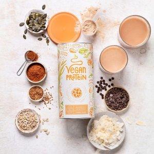 低至6.4折!€18收香草口味Alpha Foods 植物蛋白粉 营养排毒 美味健康