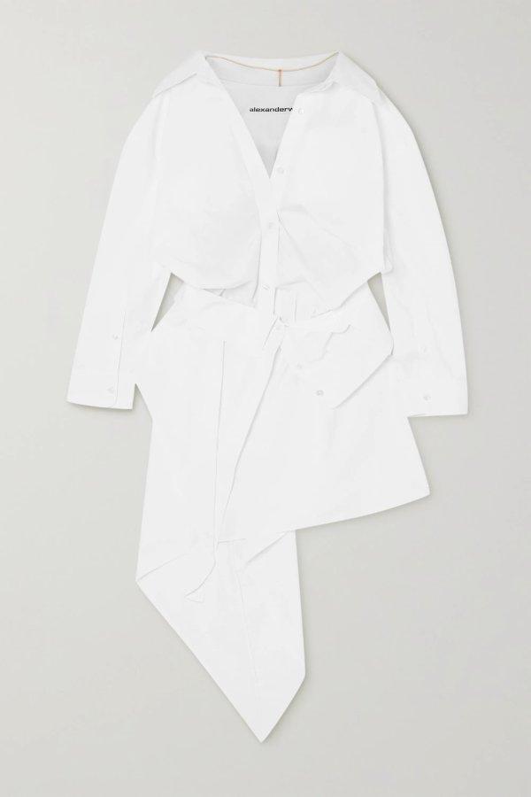 Asymmetric 衬衫裙