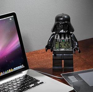 $23.96(原价$33.95)LEGO 乐高 Star Wars 星战黑武士闹钟