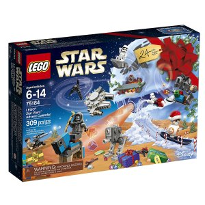 from $23.74 2017 Lego Advent Calendars