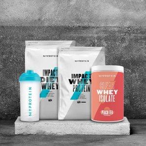 低至3折+额外9.2折MyProtein 畅销产品热卖 收专业健身营养品、无糖低脂零食