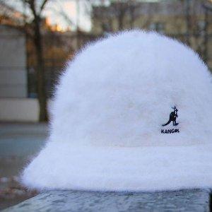 一律6折 £24收黑色logo款Kangol 袋鼠帽黑五大促 收俏皮可爱渔夫帽、贝雷帽等