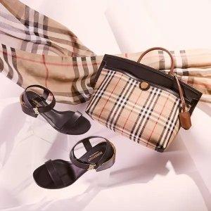 低至3.5折 男女款式全Burberry 大牌专场 必备风衣、围巾、经典格纹斜挎包$500+