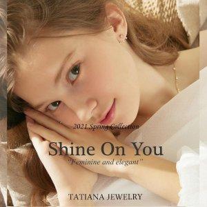 低至6折+叠9折  $122收珍珠首饰组合Tatiana  梦幻珍珠、贝母首饰限时促 复古少女风必备