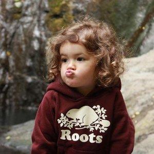 低至4.5折+额外6折 $11.99收卫衣Roots 加拿大宝宝标配卫衣  佛系休闲了解一下