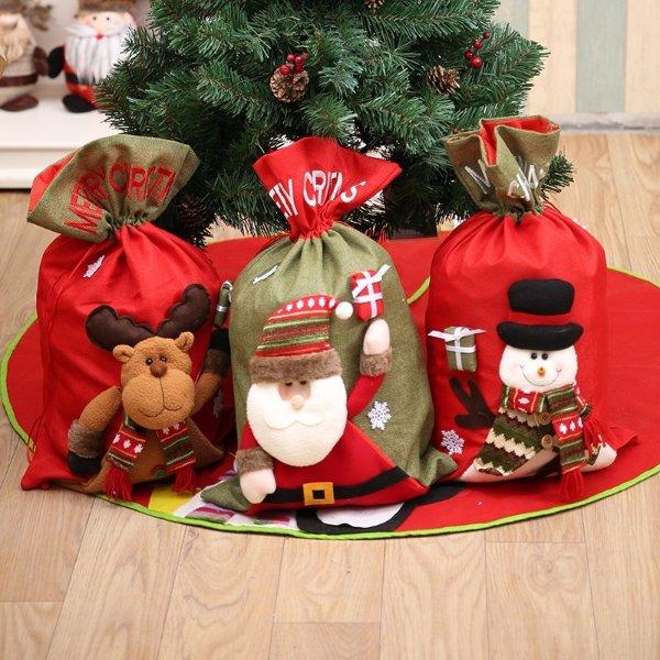 圣诞装饰袋子