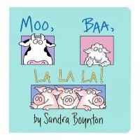 Simon & Schuster Moo, Baa, LA LA LA 牛牛小羊和小猪