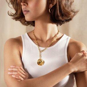 无门槛7.5折+满£200享7折黑五价:Monica Vinader  绝美贝壳珍珠系列 华丽质感 小仙女标配