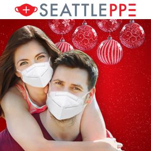 折加折口罩低至$0.12+赠礼券+祝福抽奖SeattlePPE 化学博士同款 CDC检测99.7%过滤KN95、N95、儿童口罩、消毒巾等防疫品