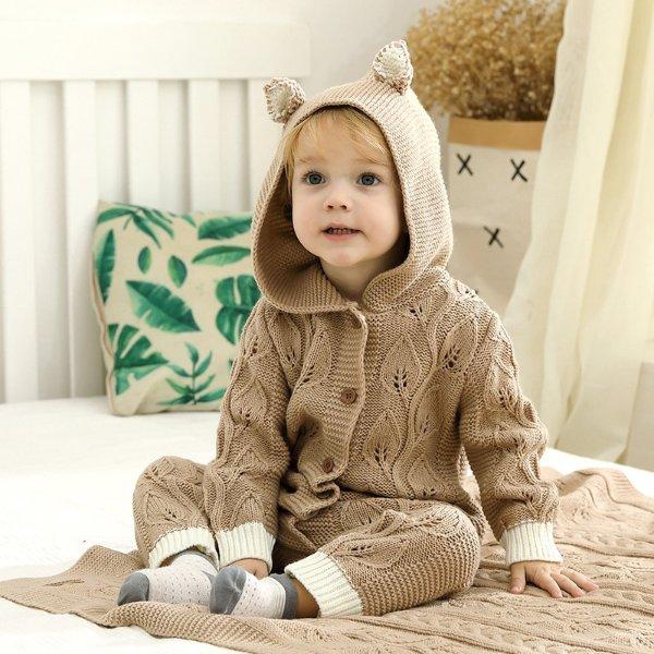 小童针织连身衣