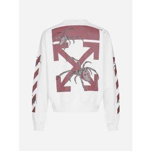 Off-WhiteArachno Arrows cotton sweatshirt