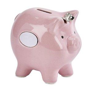 Sheridan陶瓷小粉猪存钱罐