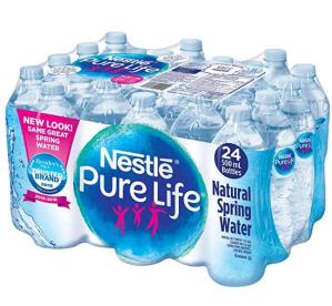 $2.49(原价$5.99)补货:Nestle Pure Life 100% Natural 纯净水 24x500ml