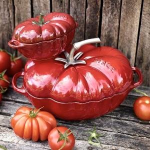 低至7折,£174 入番茄铸铁锅Staub 经典 珐琅铸铁锅 等厨具新年热卖