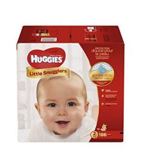$32.42包邮(原价$58.94)Huggies Little Snugglers纸尿裤