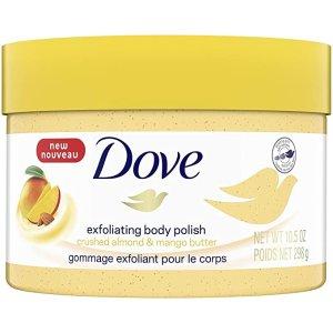 Dove芒果杏仁磨砂膏