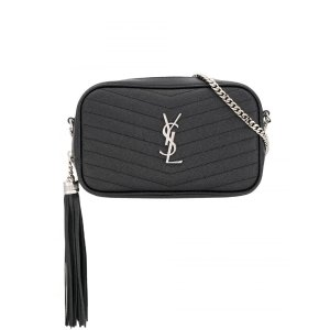 Saint LaurentLou Mini Leather Camera Bag