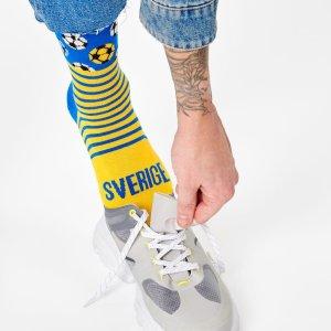 £11.95收热门球队袜子Happy Socks 国家足球限定款上线 欧洲杯你支持谁?