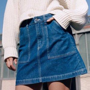 $5.99起 让你的春夏不单调H&M 官网精选女士短裙热卖