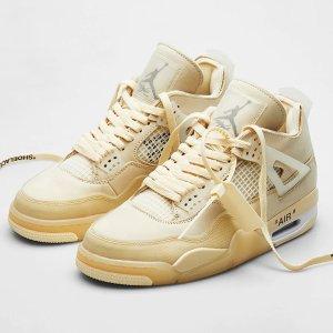 已发售Nike官网 Air Jordan 4 x Off-White
