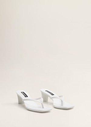 Heel leather sandals -  Women | Mango USA