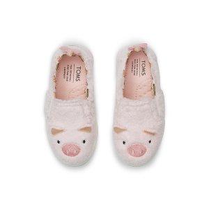 毛绒猪猪童鞋