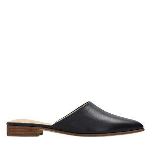 Pure Blush 黑色拖鞋