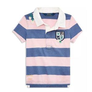低至4.2折+额外8折Polo Ralph Lauren 儿童服饰折上折特卖 经典美式休闲风