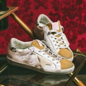定价优势+低至6.3折 $400+Golden Goose 潮鞋特卖 Superstar款$409 (原价$620)
