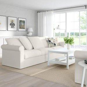 IkeaGRONLID Sofa, Inseros white - IKEA